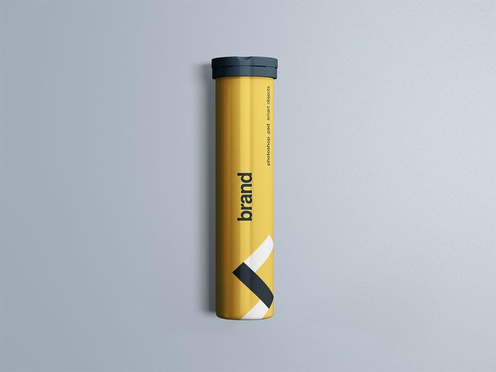 Free Effervescent Tablets Mockup