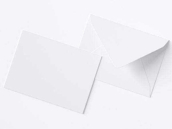 A7 Envelope Free Mockup
