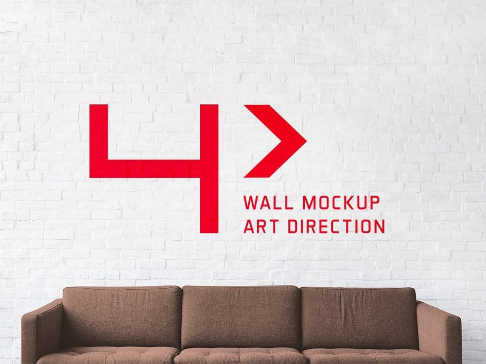 Brick Wall Free Mockup