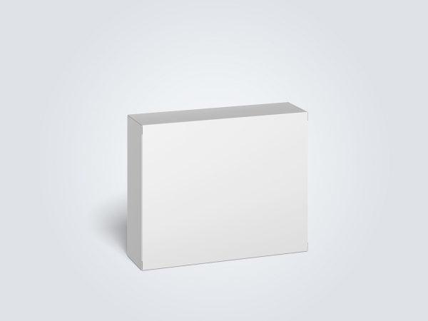 Cardboard Box Mockup (100 x 80 x 28 mm)