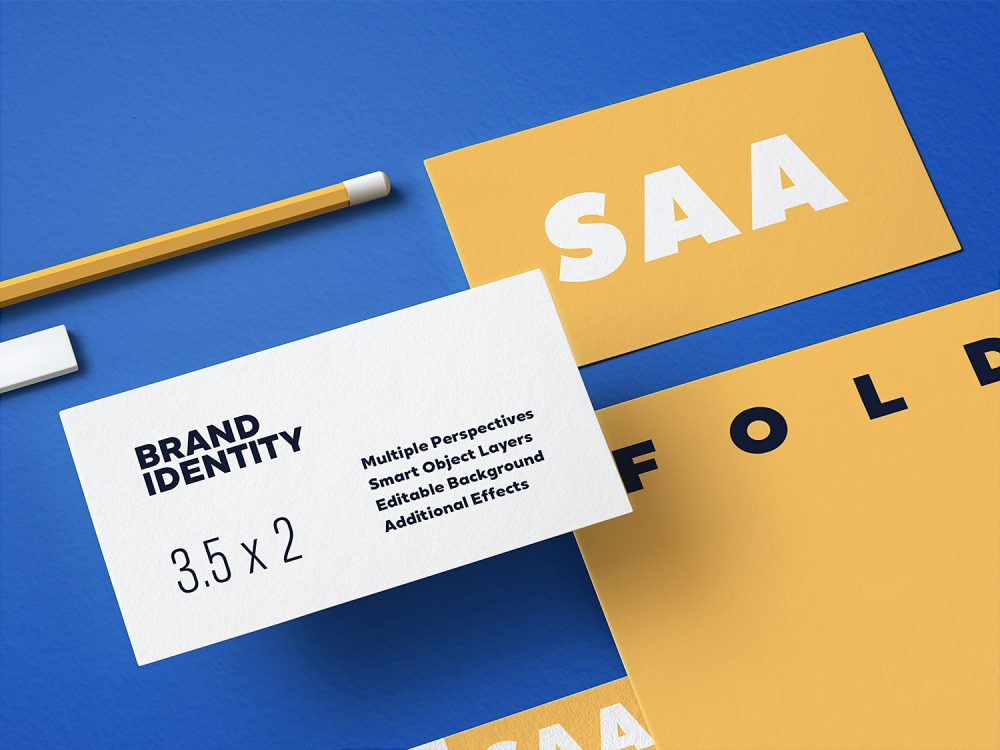 Branding Stationery Mockup Set