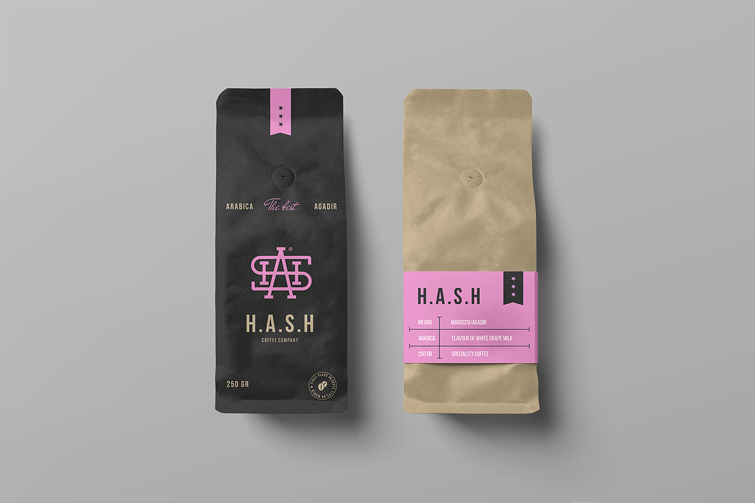 Free Coffee Bag Mockups Free Mockup