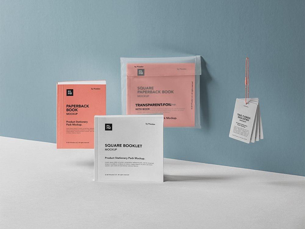 PSD Product Manual Mockup