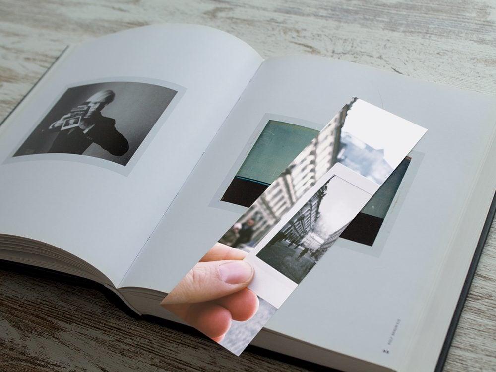 Bookmark Design Mockup Free