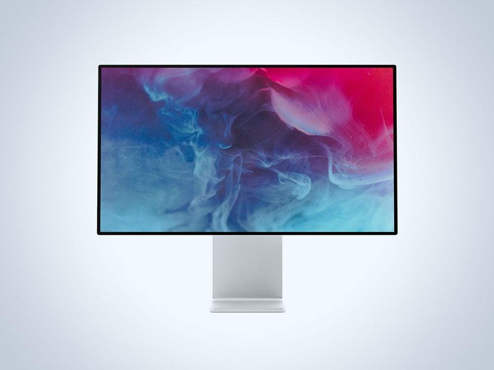 Free Apple XDR Display Mockup