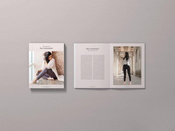 Free PSD Magazine Mockup