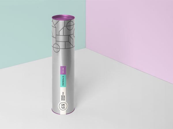 Free Tube Packaging Mockup