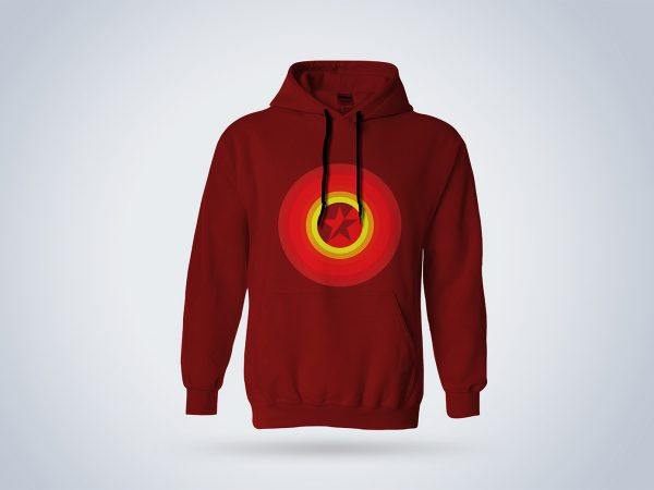 Men's Hoodie Mockup Free Download