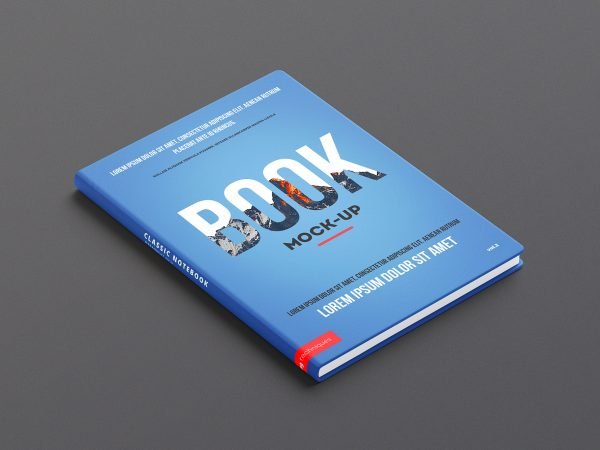 PSD Hardcover Book Mock-Up