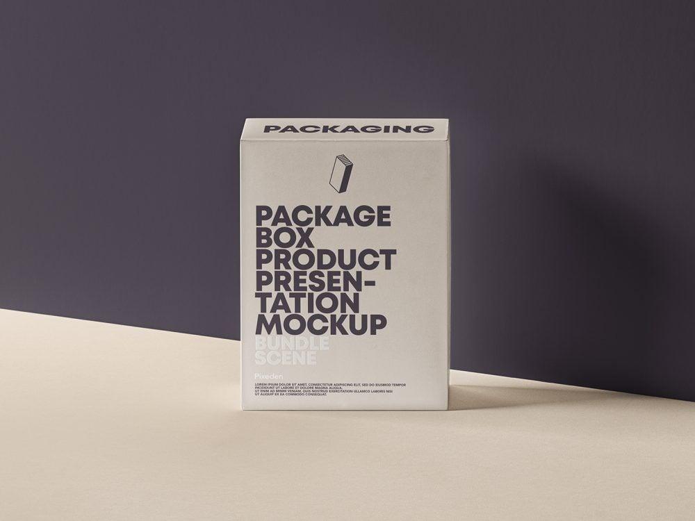 PSD Product Packaging Box Mockup
