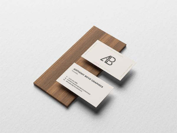 Free Business Card Branding Mockup