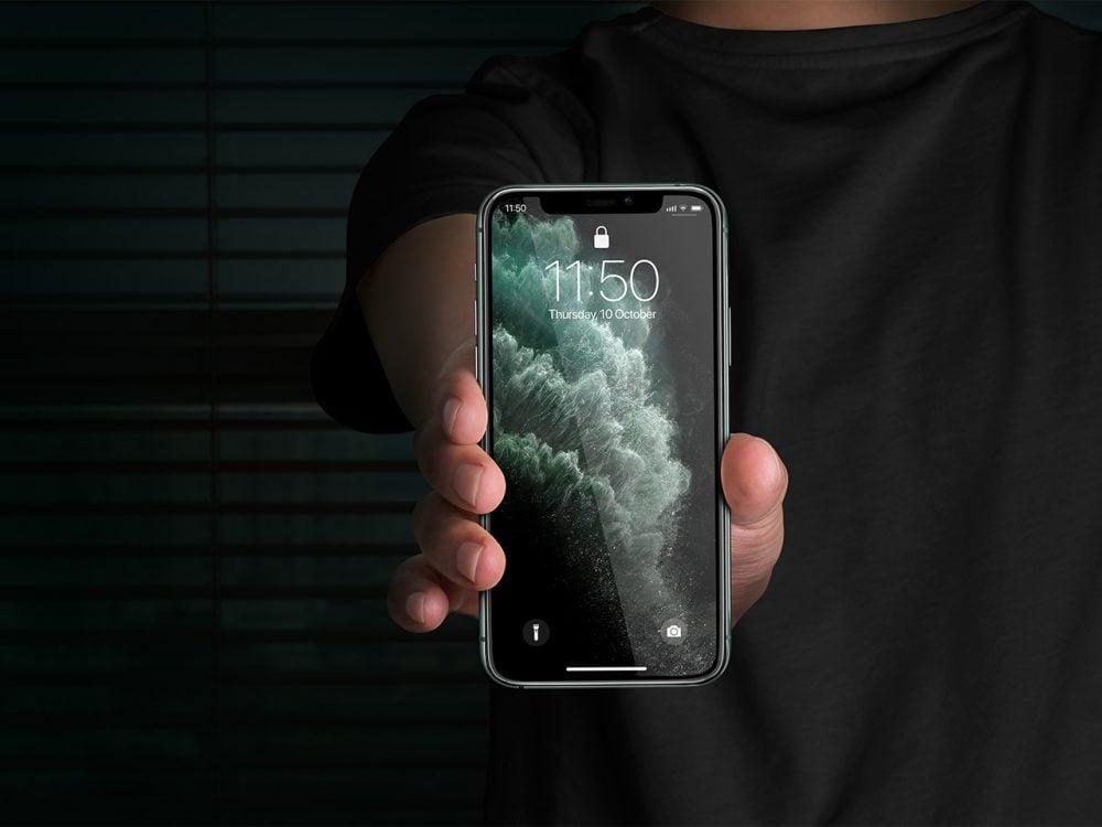 Free iPhone 11 Pro Display Mockup