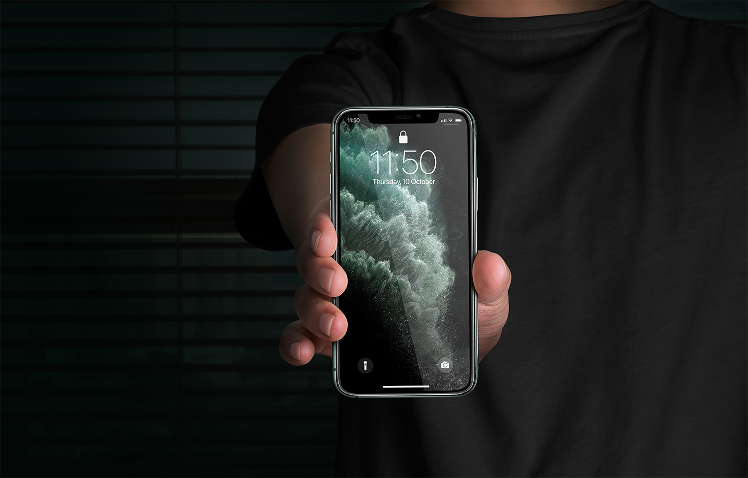Free iPhone 11 Pro Display Mockup | Free Mockup