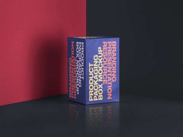 PSD Packaging Box Rectangular