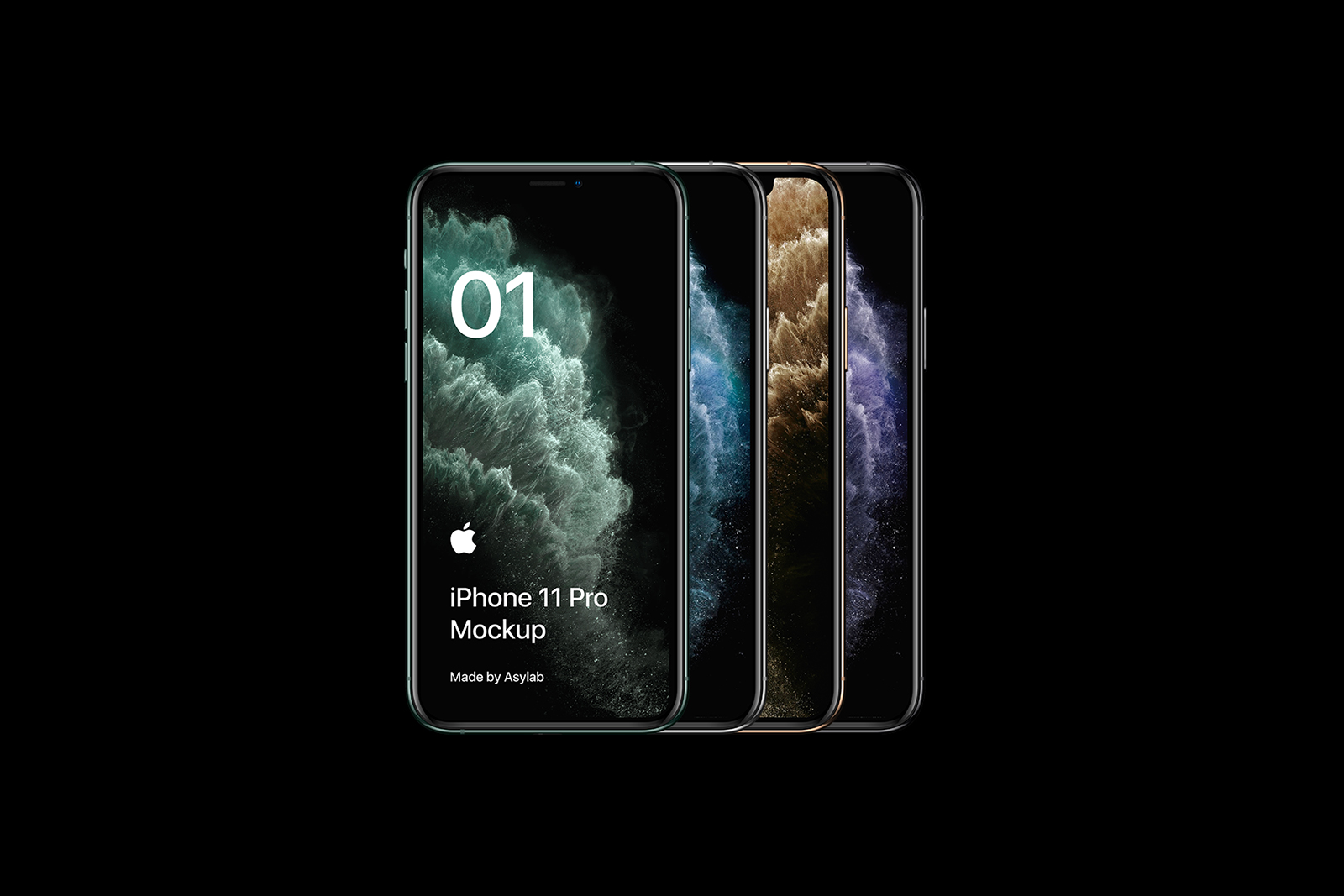Free iPhone 11 Pro Mockup | Free Mockup