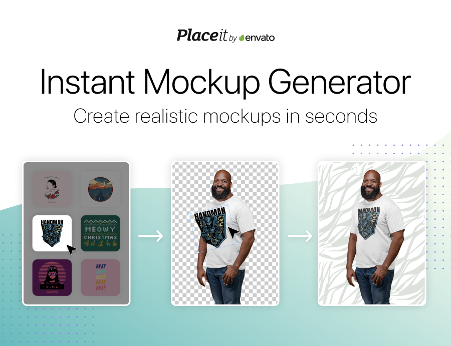 Create Mockups in Two Steps with Placeit (now 15% off)