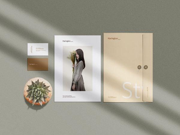 Stationery Branding PSD Mockup