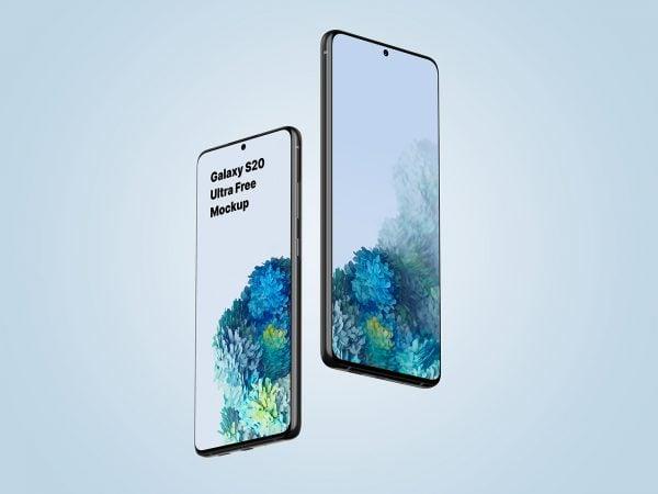Free Galaxy S20 Ultra Mockup