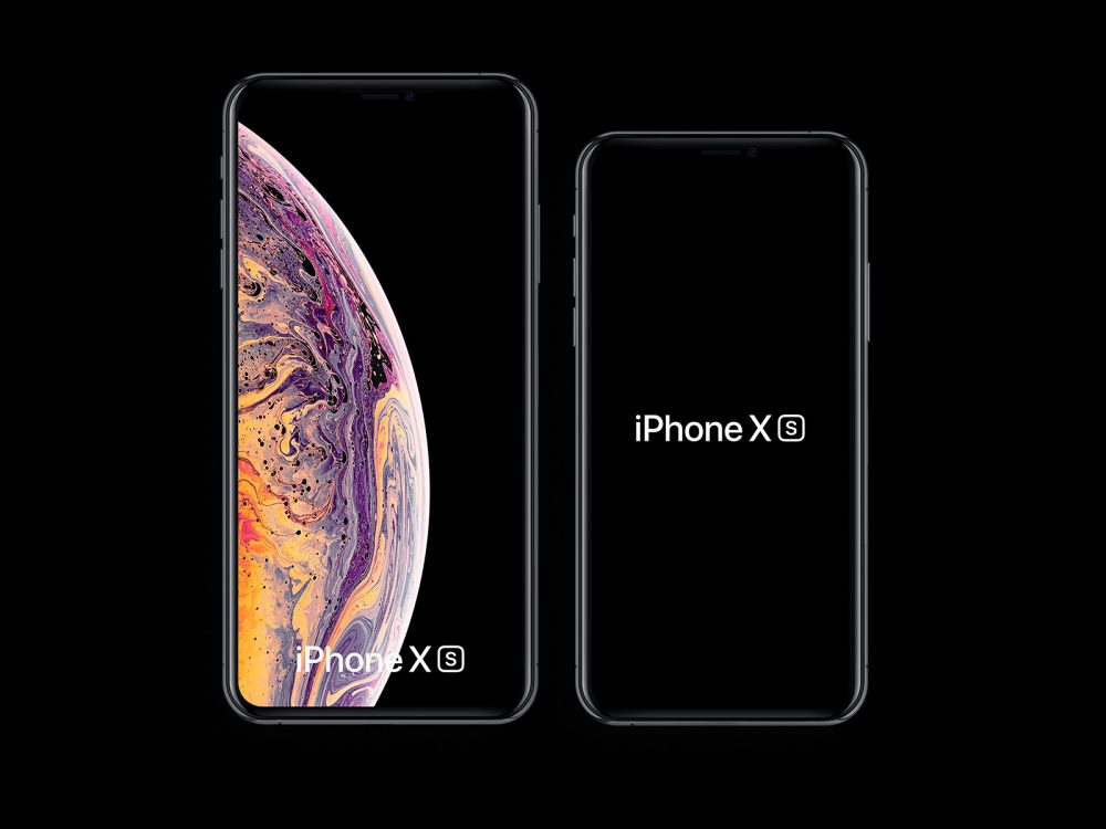 Free iPhone XS and iPhone XS Max Mockups