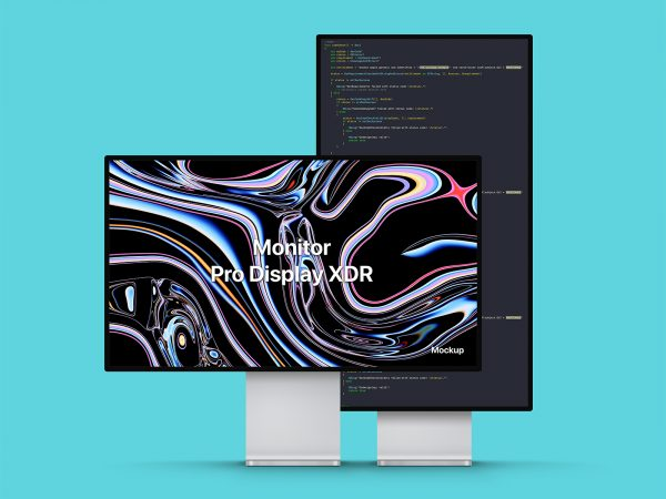 PSD Apple Pro Display XDR Mockup