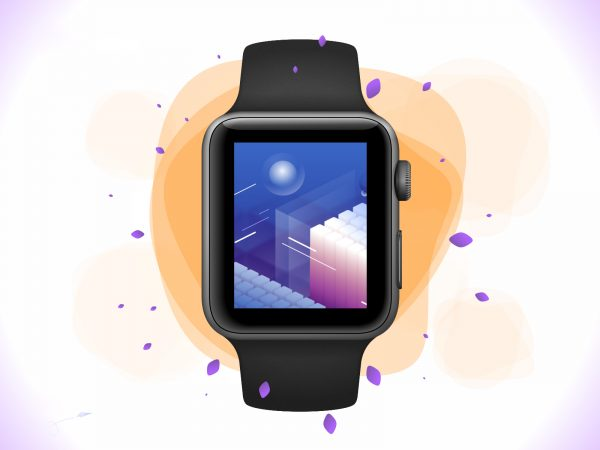 Apple Watch 42mm Adobe XD Mockup
