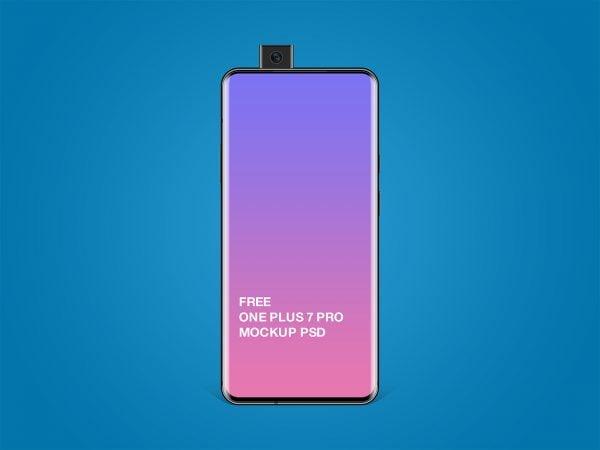 Free One Plus 7 Pro Mockup PSD