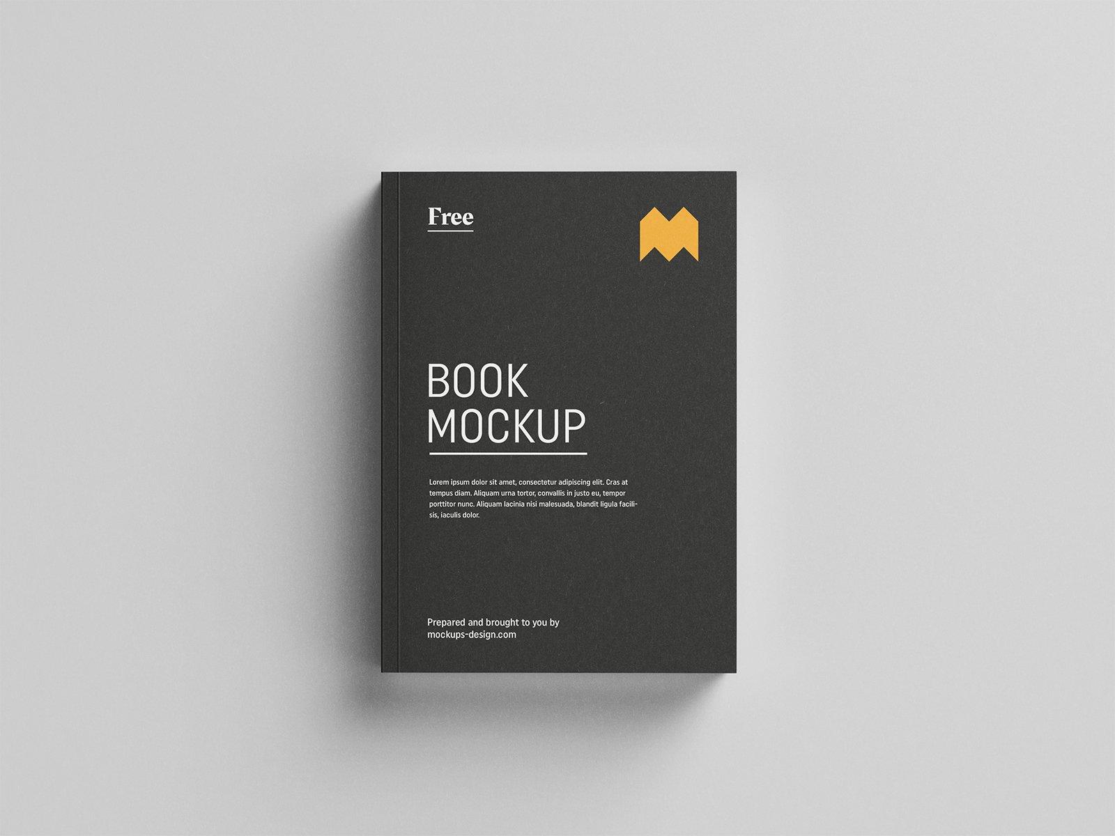 Download Free Book Mockup   Free Mockup Free Mockups