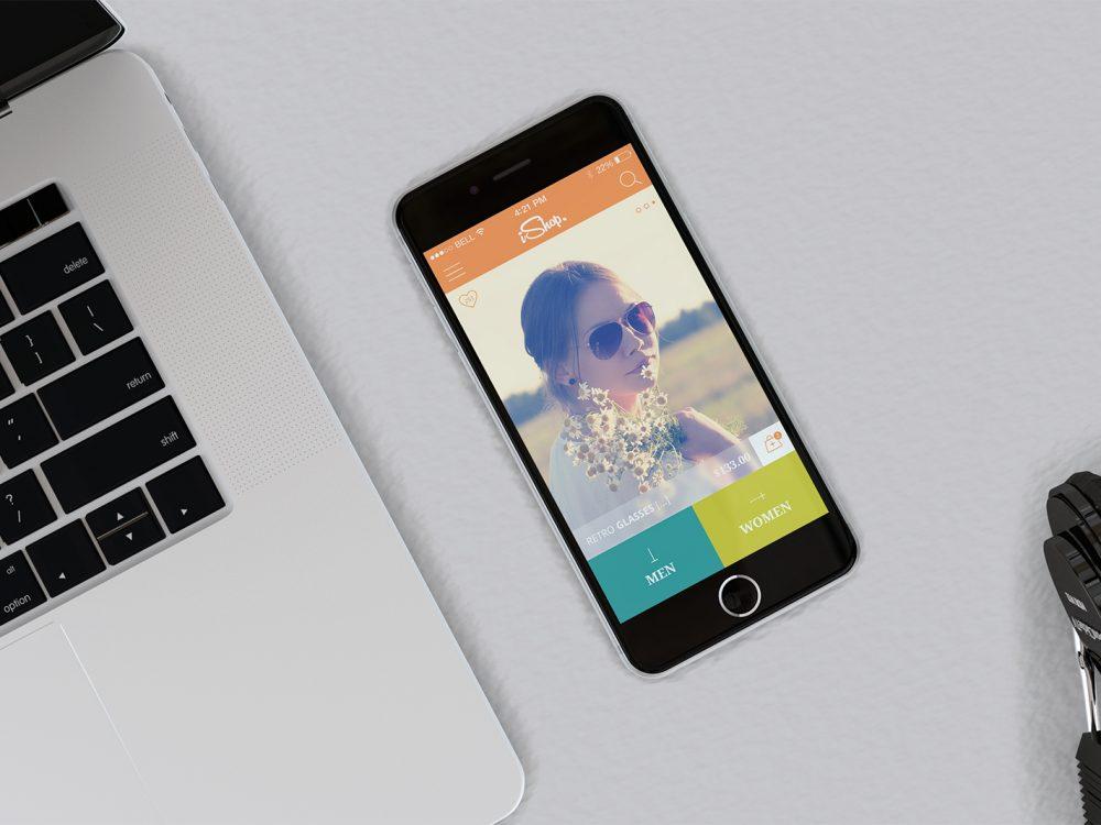 Free MacBook & iPhone Mockups