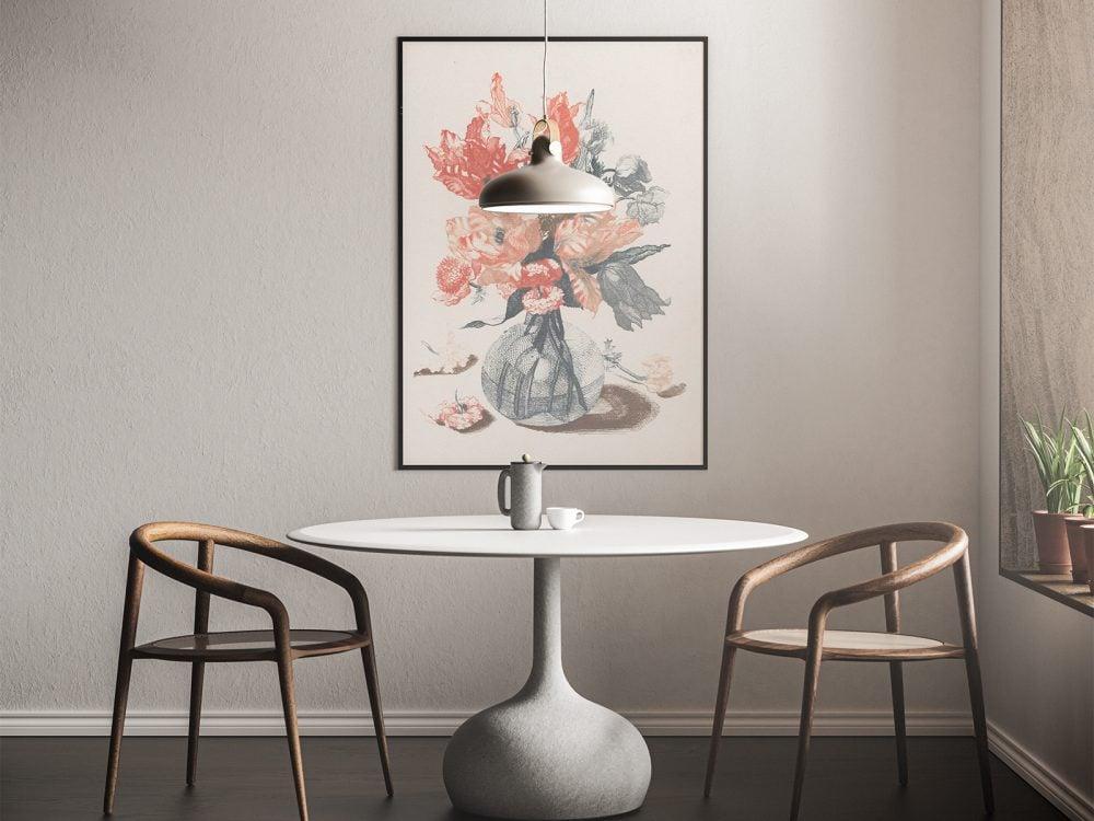 Modern Interior Poster Free Mockup