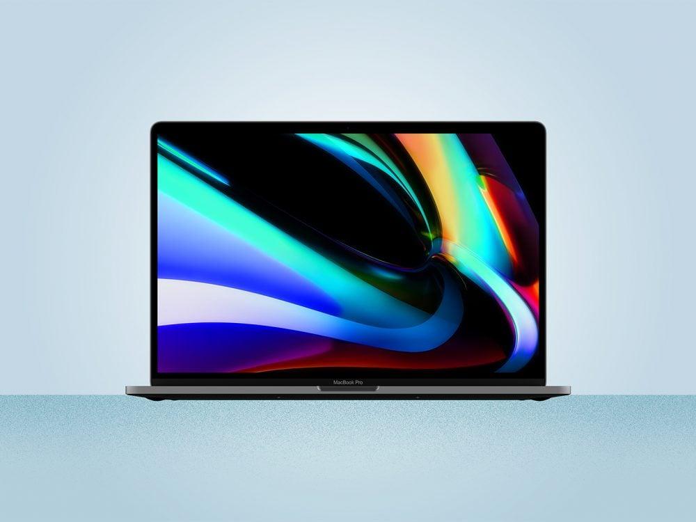 Apple MacBook Pro 16 Inch Mockup