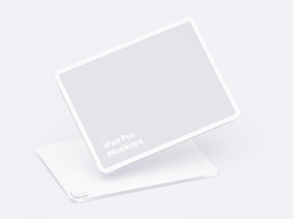 Free iPad Pro Mockup (Figma, Photoshop, Sketch)