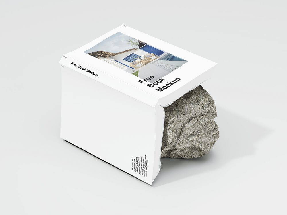 Free Book Cover Design Mockup