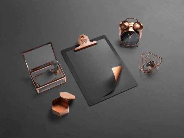 Isometric Branding Mockup Scene