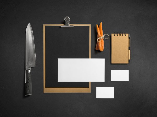 Restaurant/Bar Stationery Branding Mockup
