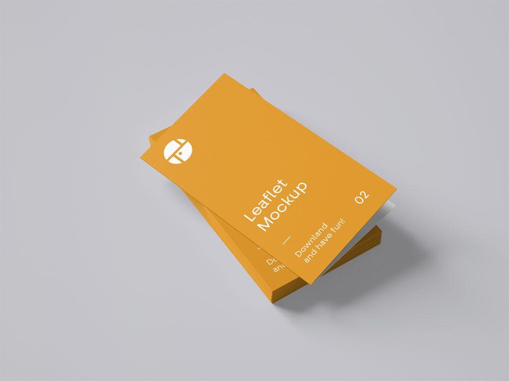 Two-Fold Brochure Mockup
