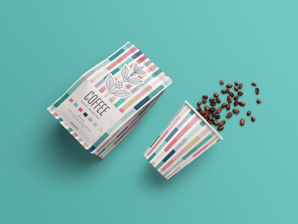 Coffee Packaging Free Mockup
