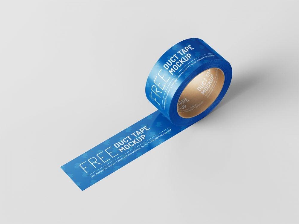 Free Duct Tape Mockup