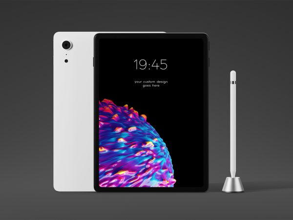 Free Tablet PSD Mockup