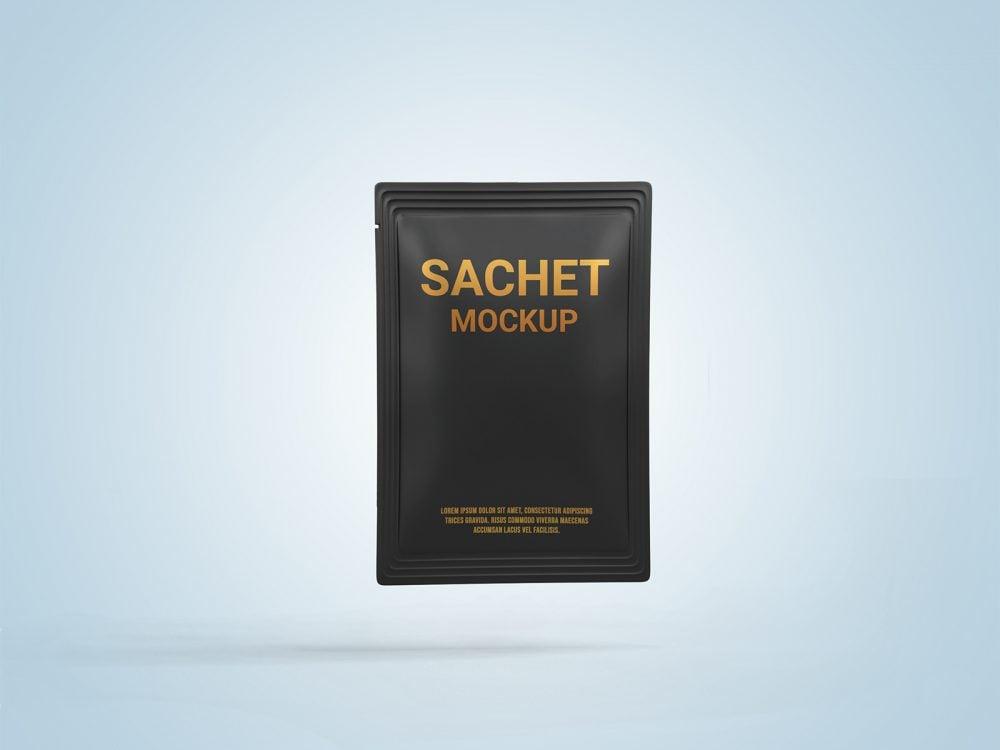 Free Pouch Sachet Mockup