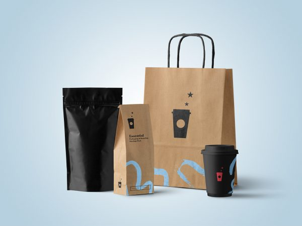 Coffee Branding Free Mockup