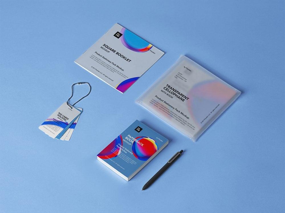 Product Stationery Free Mockup Set