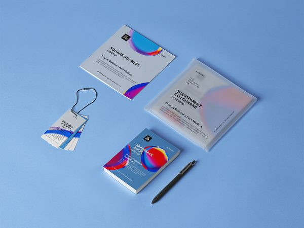 Product Stationery Free Mockup Set