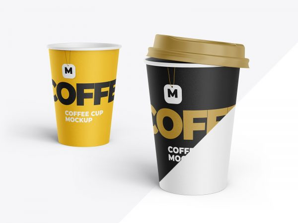 Paper Cup Free Mockup