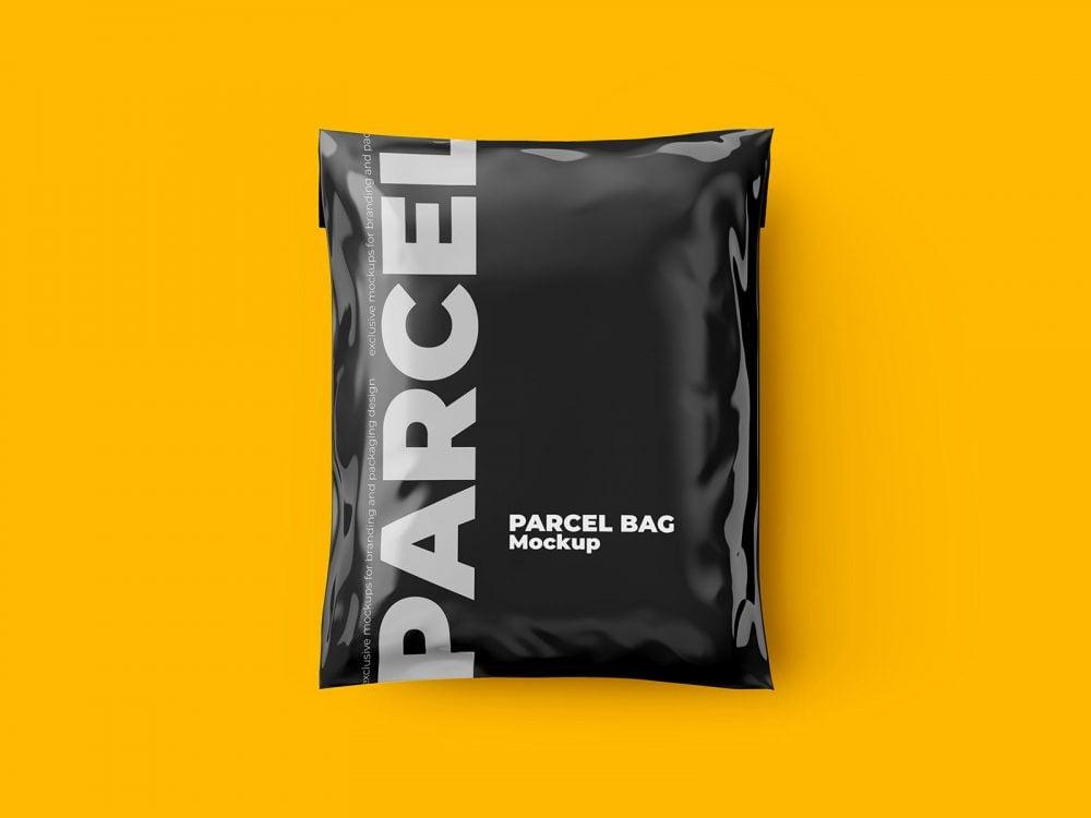 Shipping Bag Free Mockup