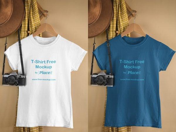 T-Shirt Free Online Mockup