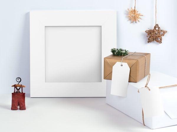 Free Christmas Frame Mockup