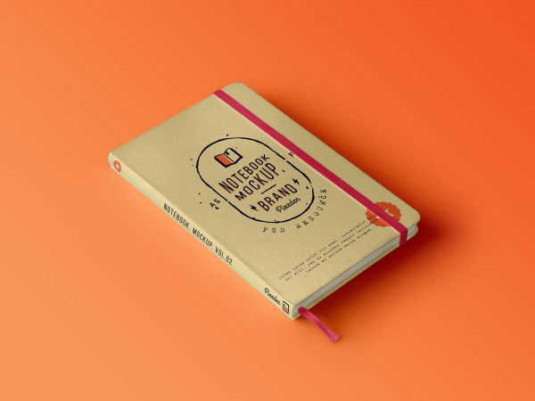 Classic Notebook Free Mockup