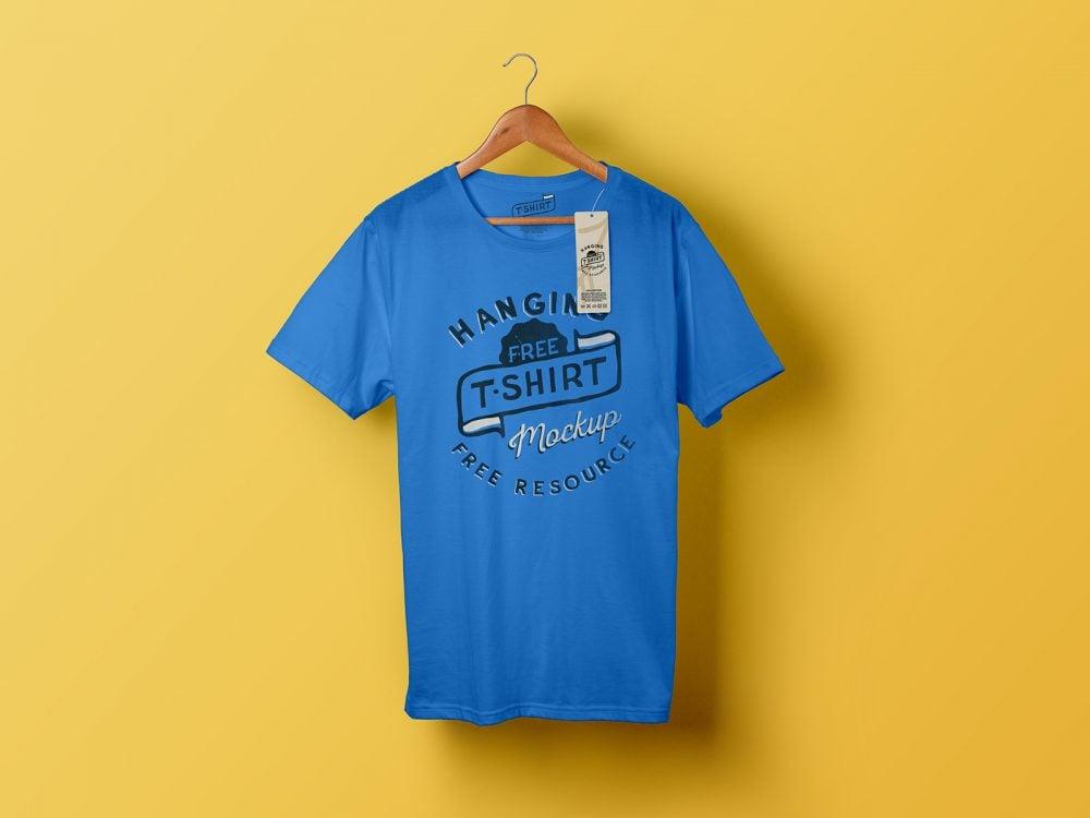 Free Classic T-Shirt Mockup