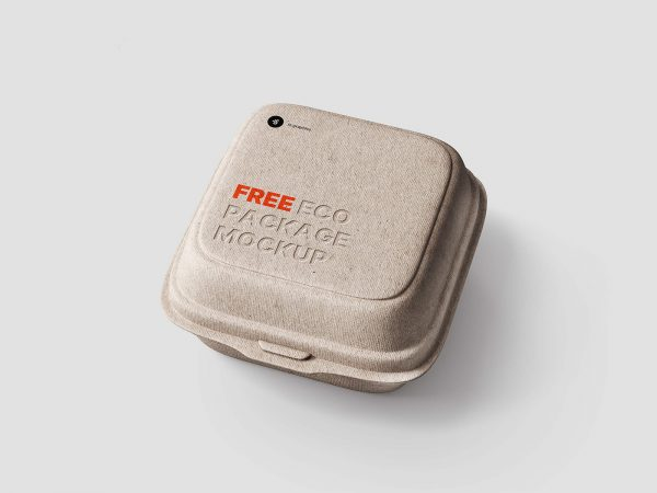 Free Eco Package Mockup