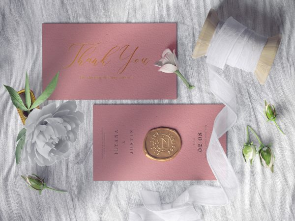 Wedding Invitation Card Free Mockups